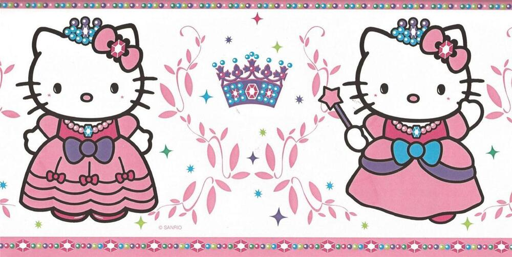 Hello Kitty Blue And Pink