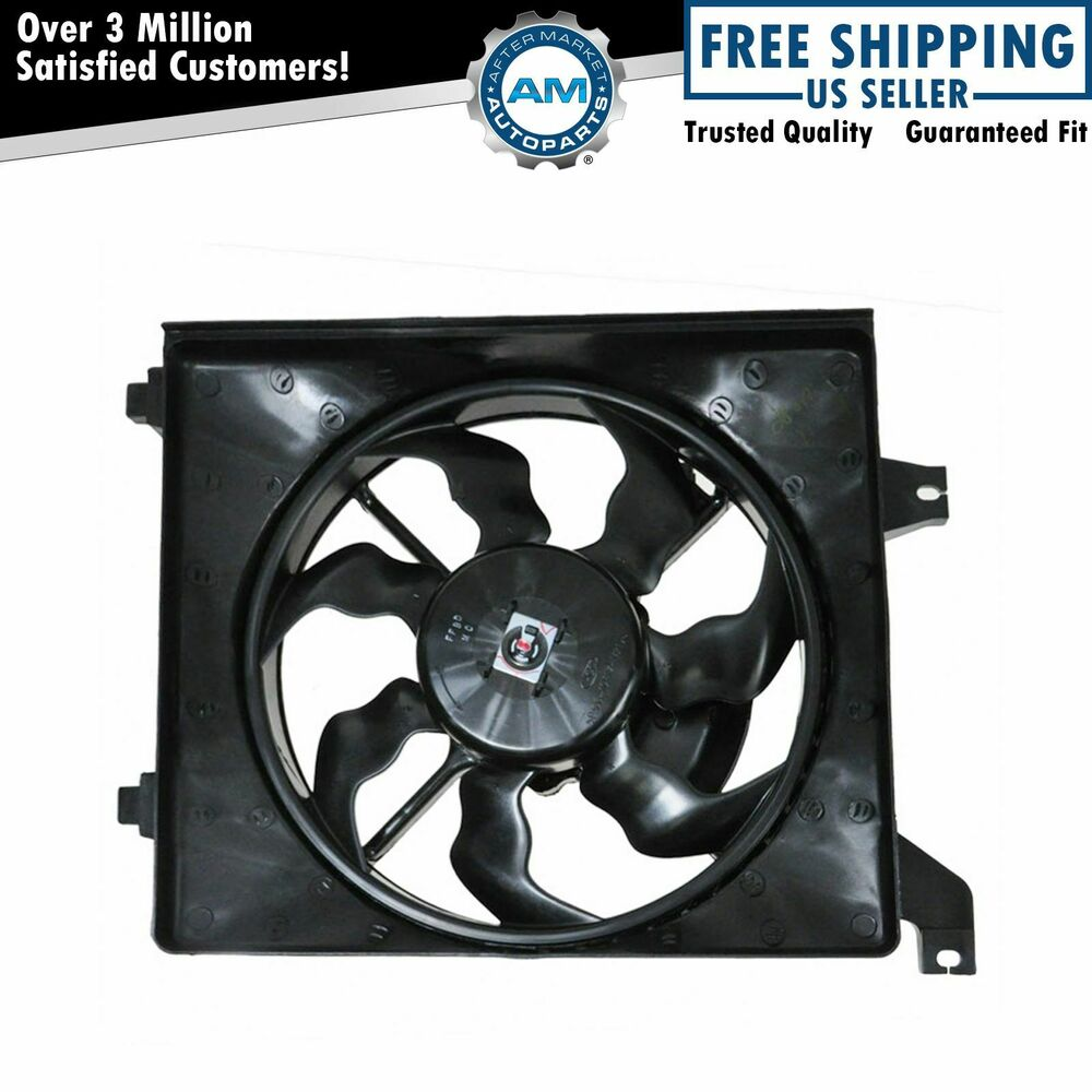 NEW AC CONDENSER FAN ASSEMBLY FITS 20072009 CHRYSLER