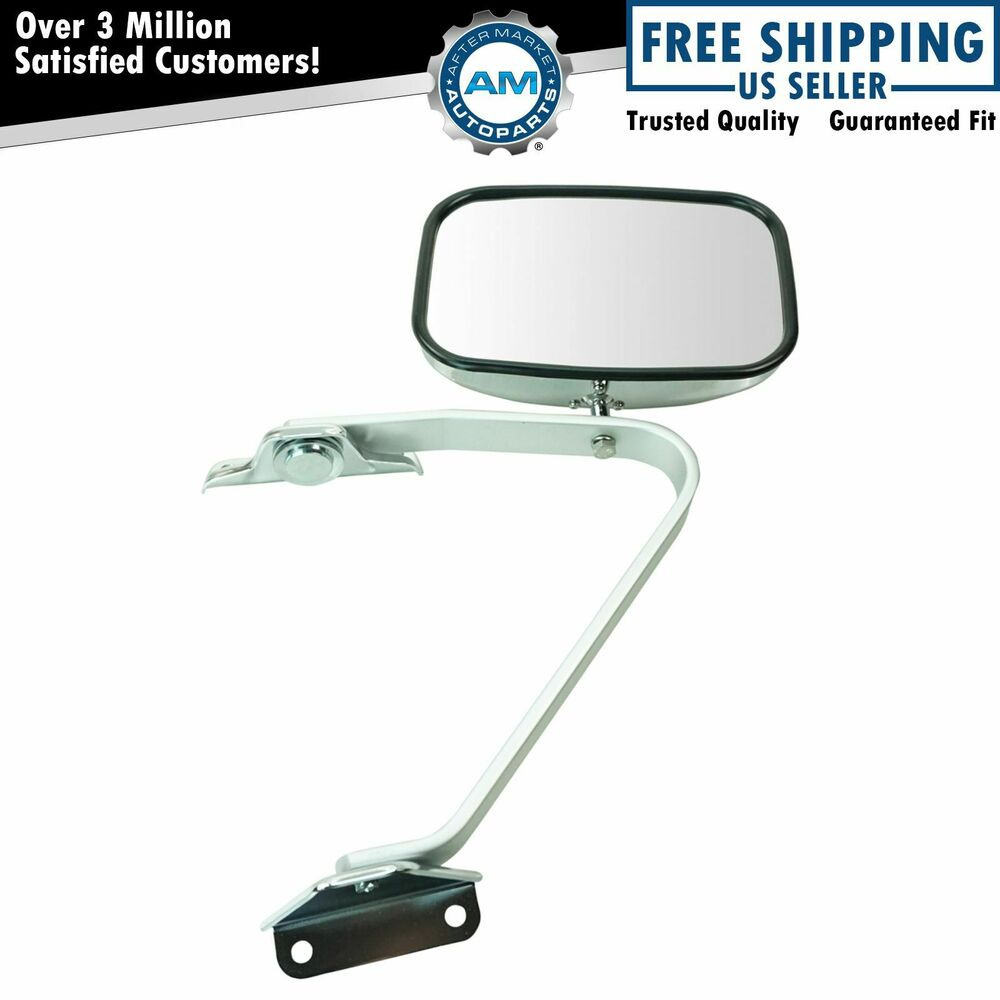 Manual Side View Mirror Chrome Left or Right NEW for Ford F-Series Pickup Truck | eBay