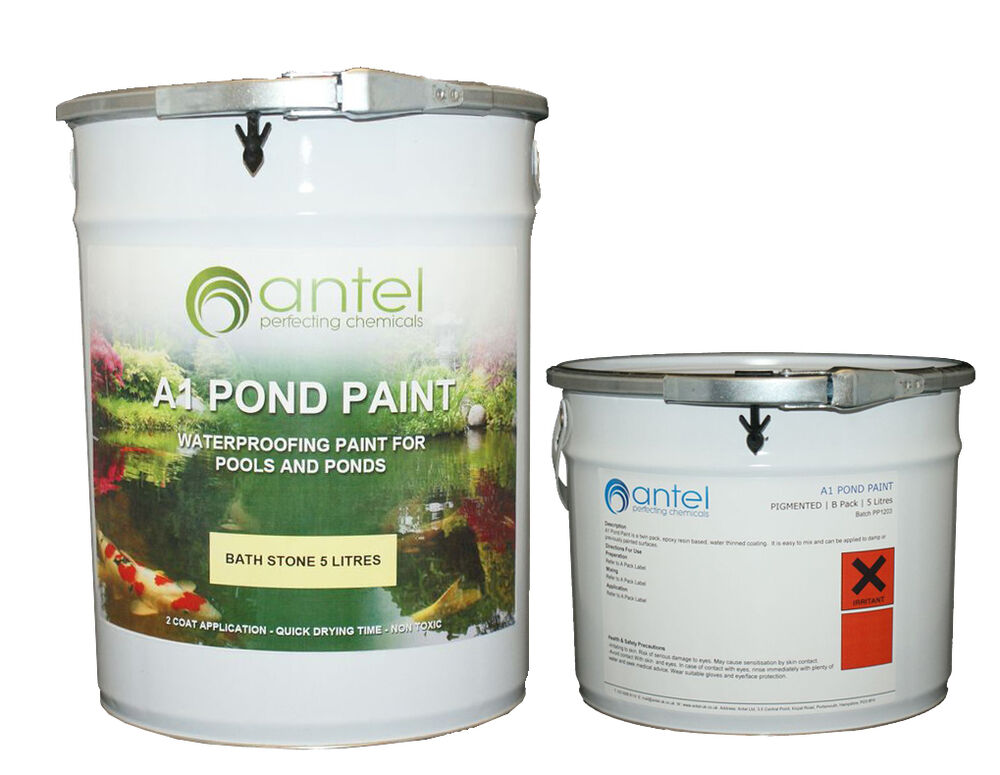 A1 POND PAINT - WATERPROOFING FOR PONDS