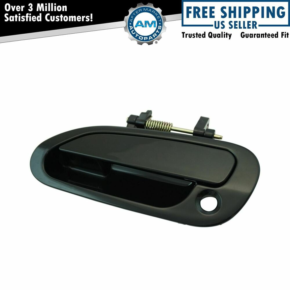 Outer Outside Exterior Handle Driver Side Lh Left For 98 02 Honda Accord 4 Door Ebay