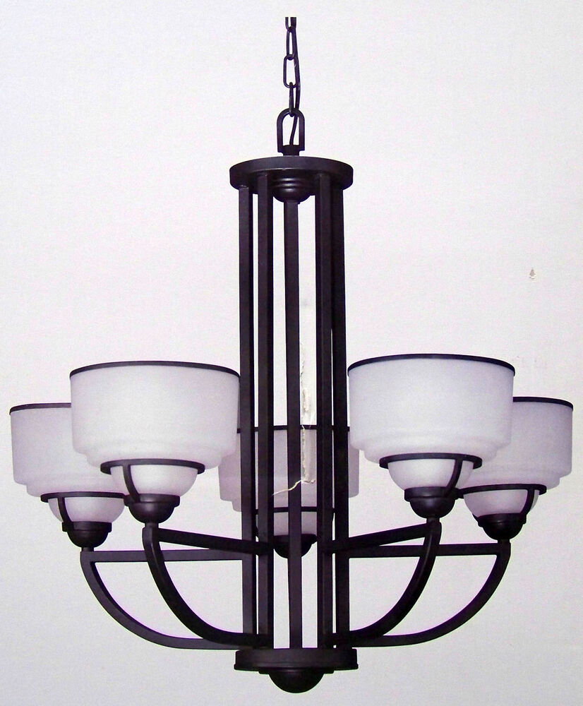"""Commercial Electric 5-Light """"Transitional Style"""