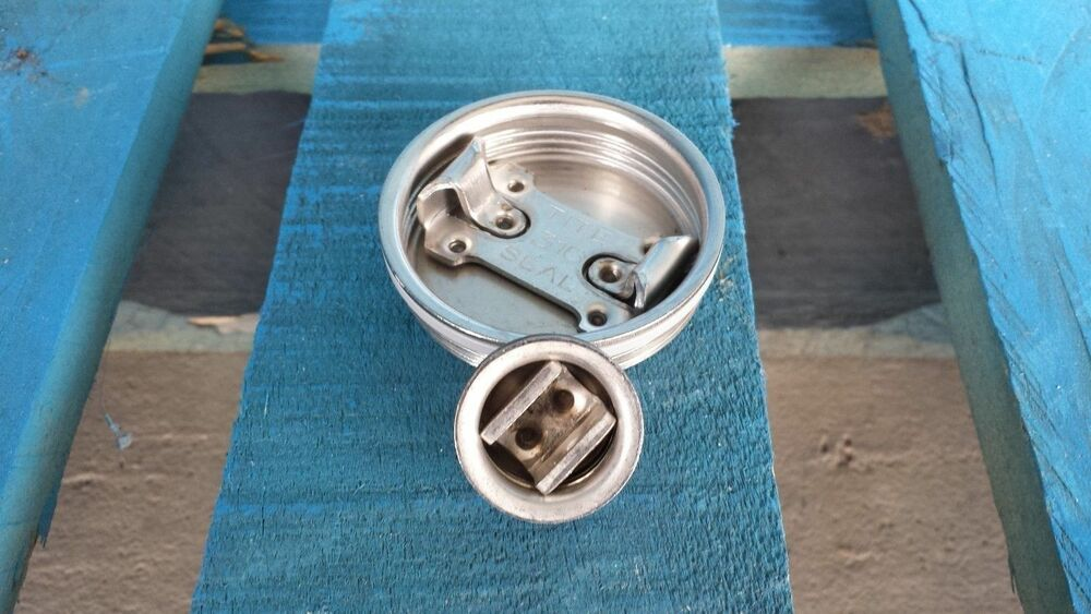 Stainless steel bungs caps closures for barrels drums ebay