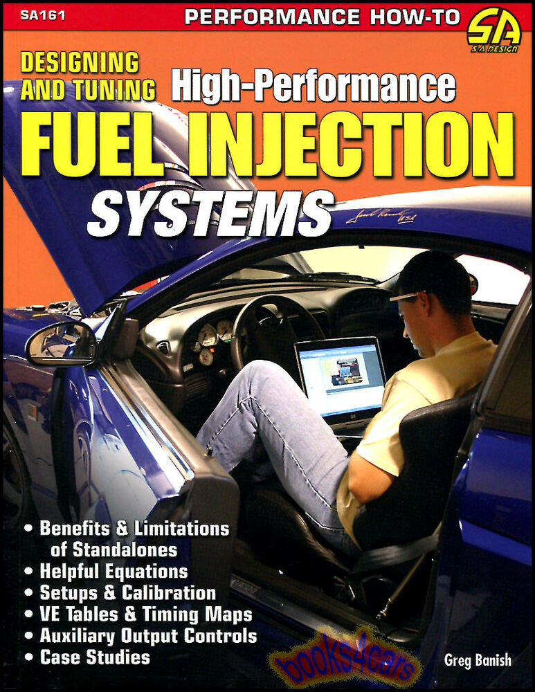 high performance fuel injection systems designing tuning book manual engine efi ebay