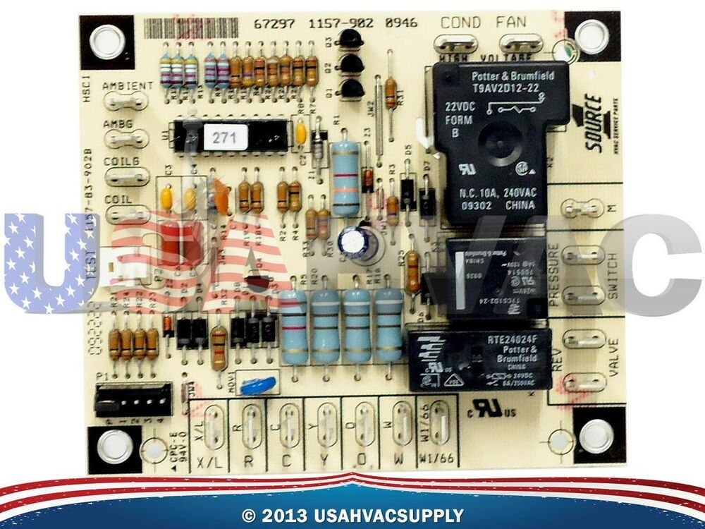 Luxaire York Coleman Evcon Defrost Control Board 67297