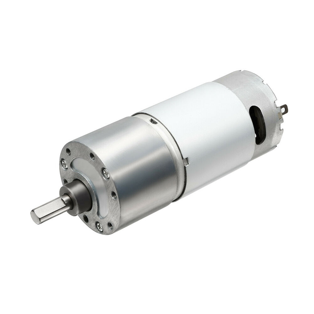 40 Rpm 24v High Torque Magnetic Cylinder Electric Dc Motor