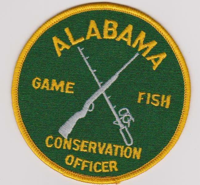 Old style alabama game fish conservation officer game for Alabama game and fish