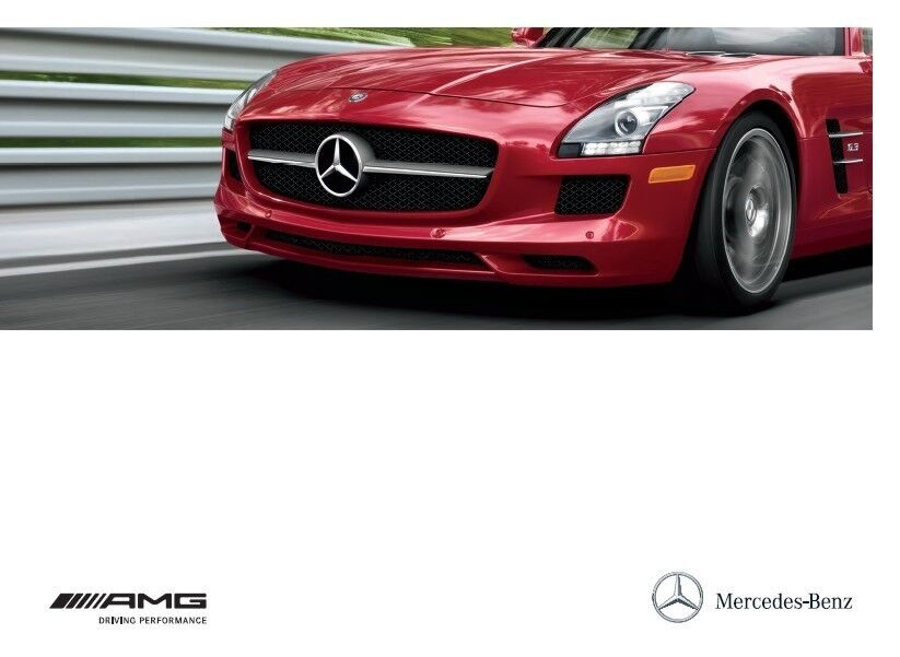 2012 mercedes benz amg 28 page sales brochure catalog for Mercedes benz amg accessories parts