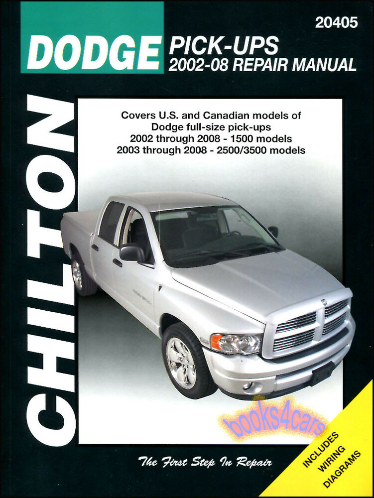 dodge ram 1500 repair manual service manual chilton. Black Bedroom Furniture Sets. Home Design Ideas