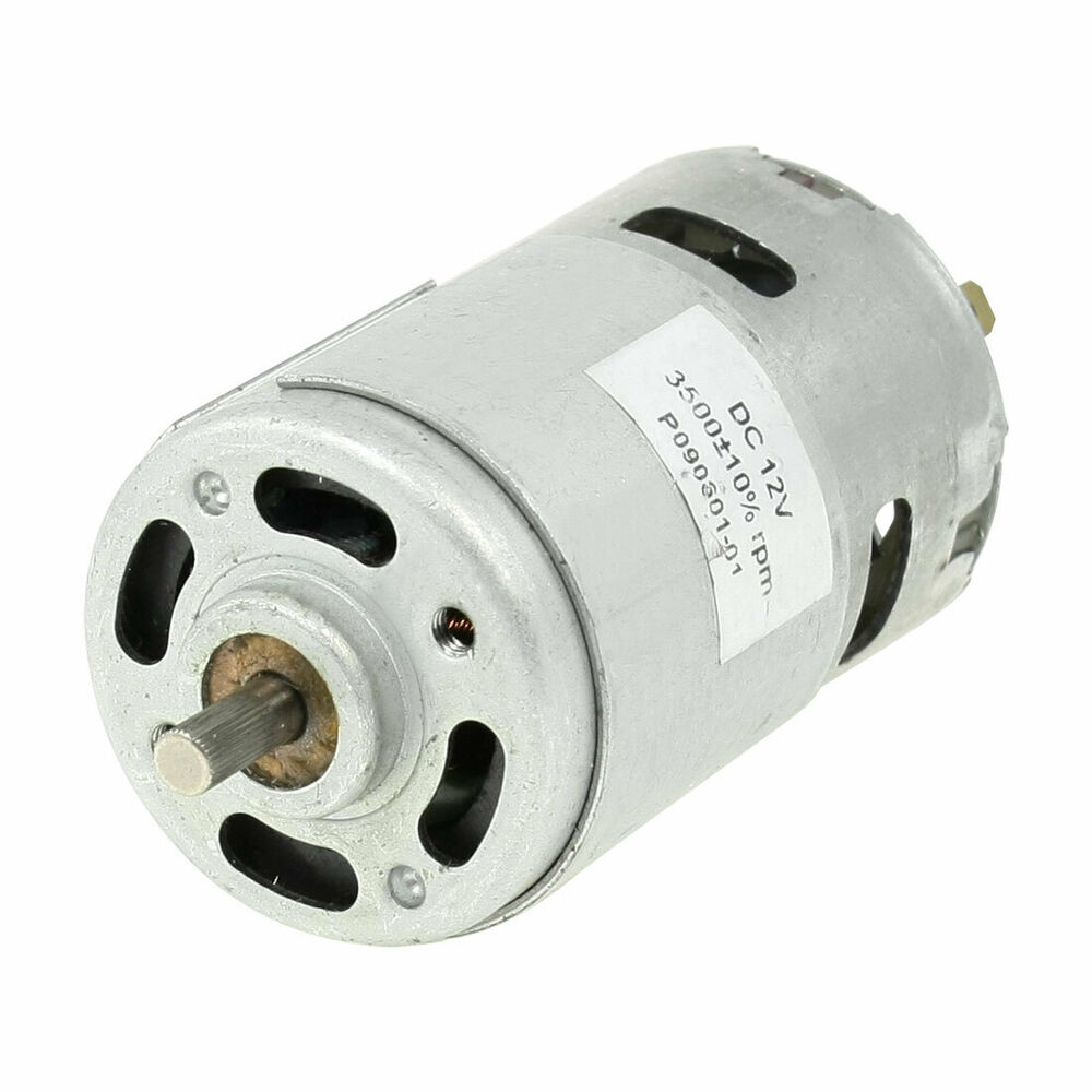 3500rpm 12v 0 3a High Torque Cylinder Magnetic Electric