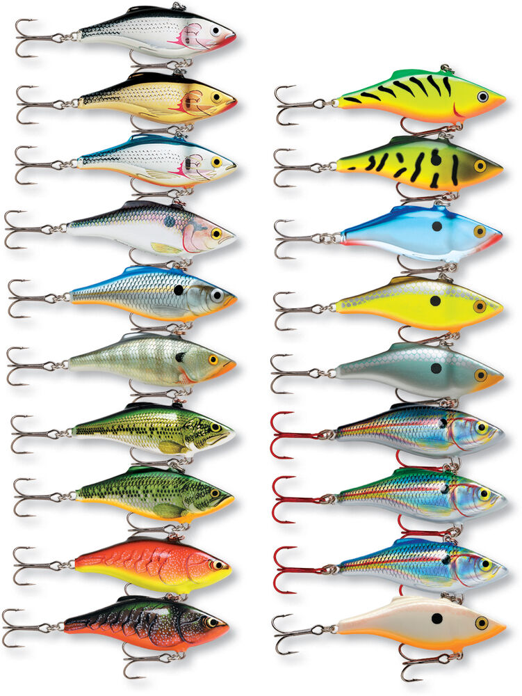 Lipless fishing lure rapala rattlin rnr08 rnr 08 ebay for Fishing lures ebay