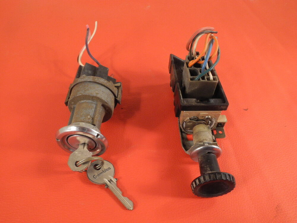 1960 1961 1962 1963 Chevy Truck Ignition Switch And Light