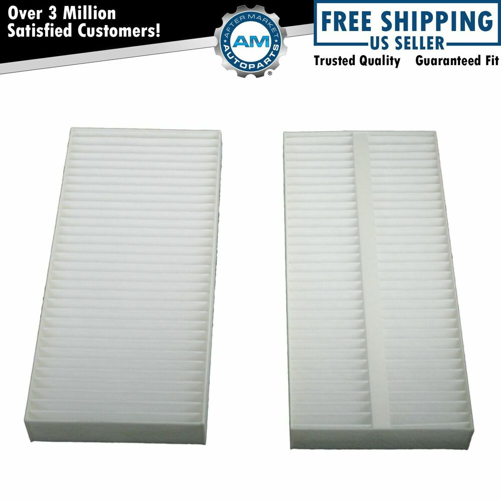 cabin air filter pair set of 2 for nissan titan armada. Black Bedroom Furniture Sets. Home Design Ideas