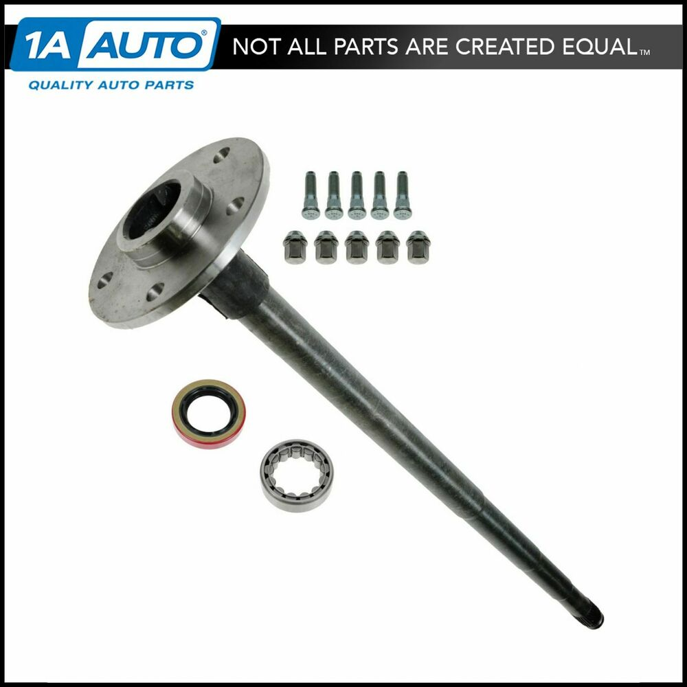 2001 Dodge Ram 1500 Axle Shaft : Axle shaft with install kit rear for dodge ram