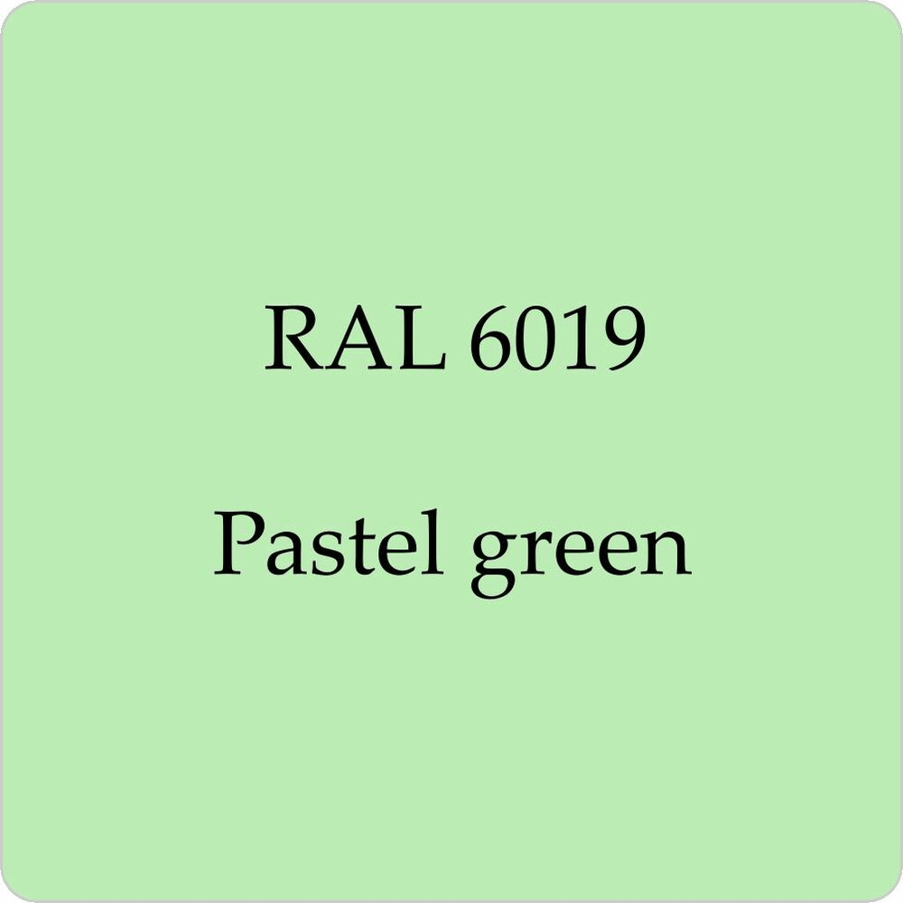 Ral 6019 cellulose car body paint pastel green 1l with Light pastel green paint