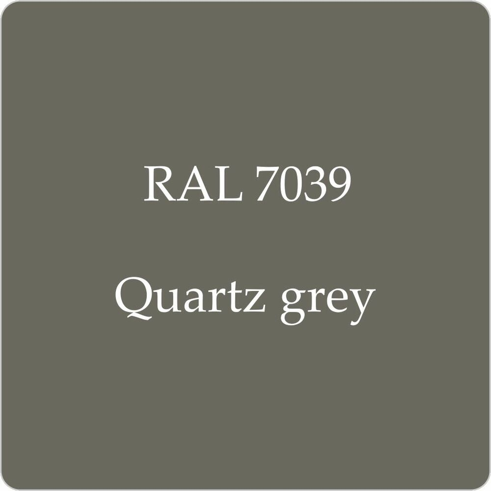 RAL 7039 Cellulose Car Body Paint Quartz Grey 1L With Free