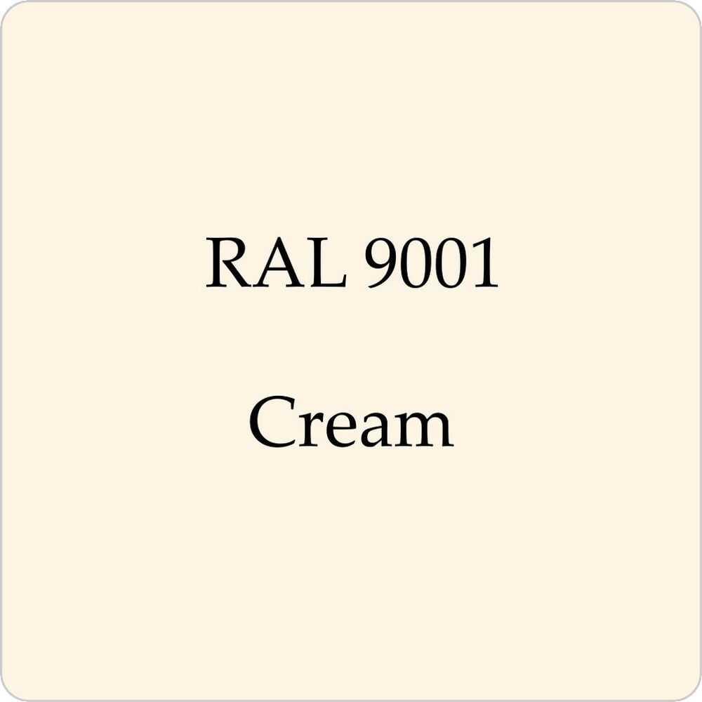 ral 9001 cellulose car body paint cream 1l with free strainer ebay. Black Bedroom Furniture Sets. Home Design Ideas