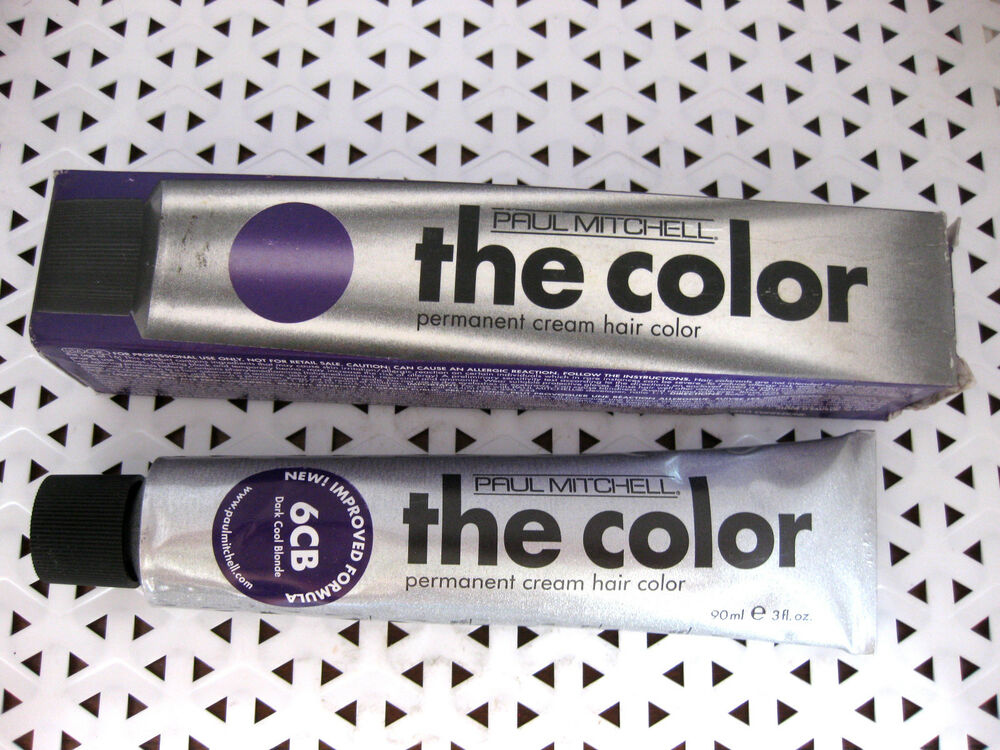 Paul Mitchell The Color Permanent Hair Color Purple Box Cb Series
