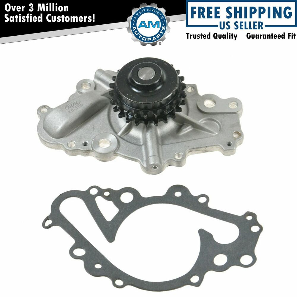 water pump new for chrysler dodge 2 7l v6 ebay. Black Bedroom Furniture Sets. Home Design Ideas