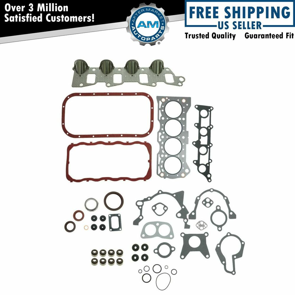 Engine Intake Exhaust Manifold Head Gasket Kit Set For
