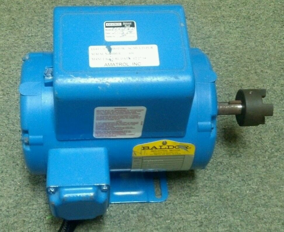 Baldor 1 3 hp 56z 1725 rmp 115 208 230 v electric motor for Dc motor 1 3 hp