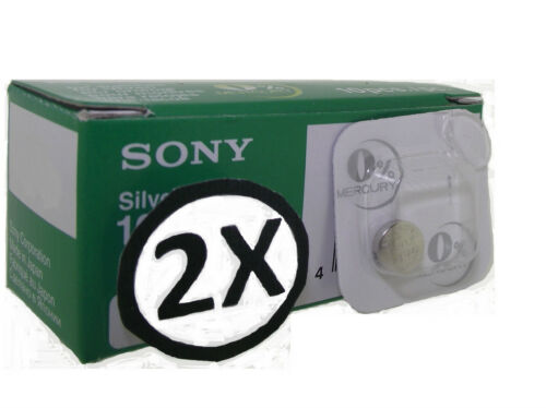 2 x Sony Watch Battery Cell [ All Sizes ] Silver Oxide watch Batteries 0%mercury