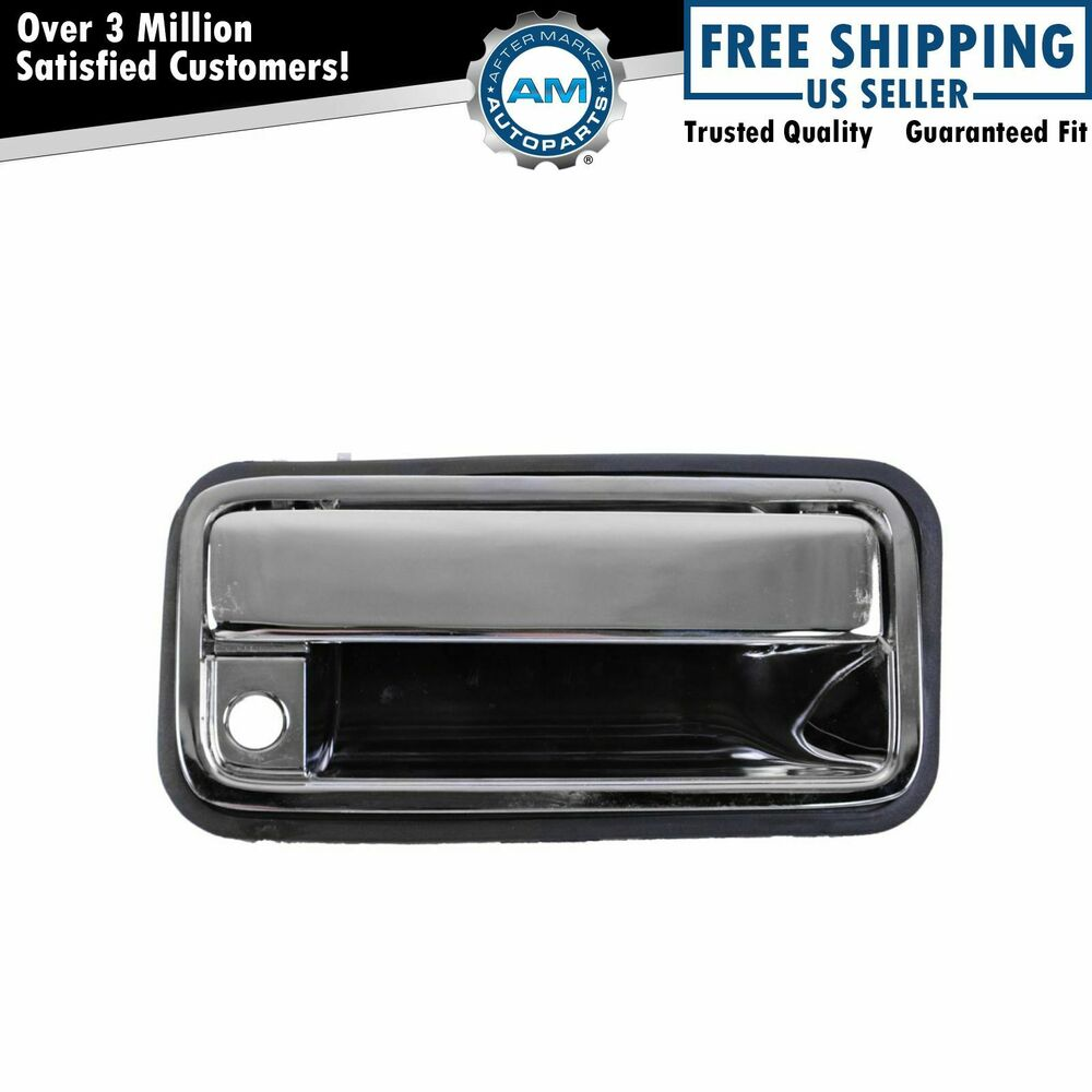 Rear cargo door handle chrome outer outside for suburban for New back door