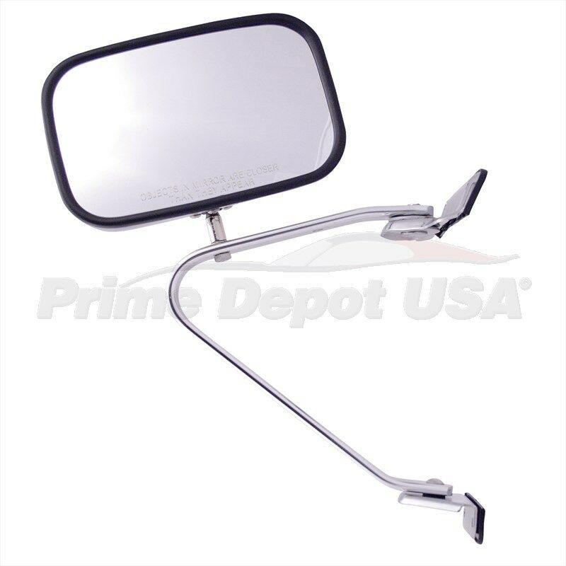 A brand new 1 high quality manual chrome mirror left hand for Mirror quality