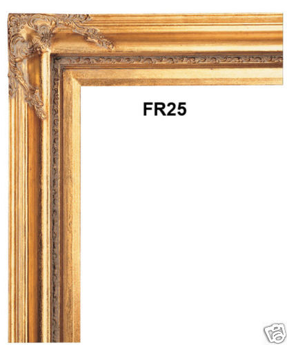 Picture Frame 4 Gold Leaf With Liner 24x36 24 X 36 Ebay
