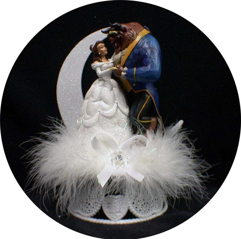 princess wedding cake toppers disney princess and the beast prince wedding cake 18778