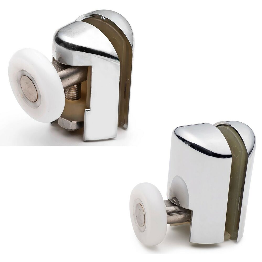 Set Of 8 Single Shower Door Rollers Runners Wheels