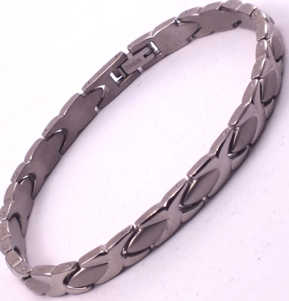 strength bracelet bionic strength energy power titanium xoval balance band 3373
