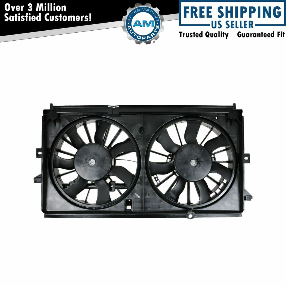 Radiator Cooling Fans : Dual radiator cooling fan for chevy impala w heavy