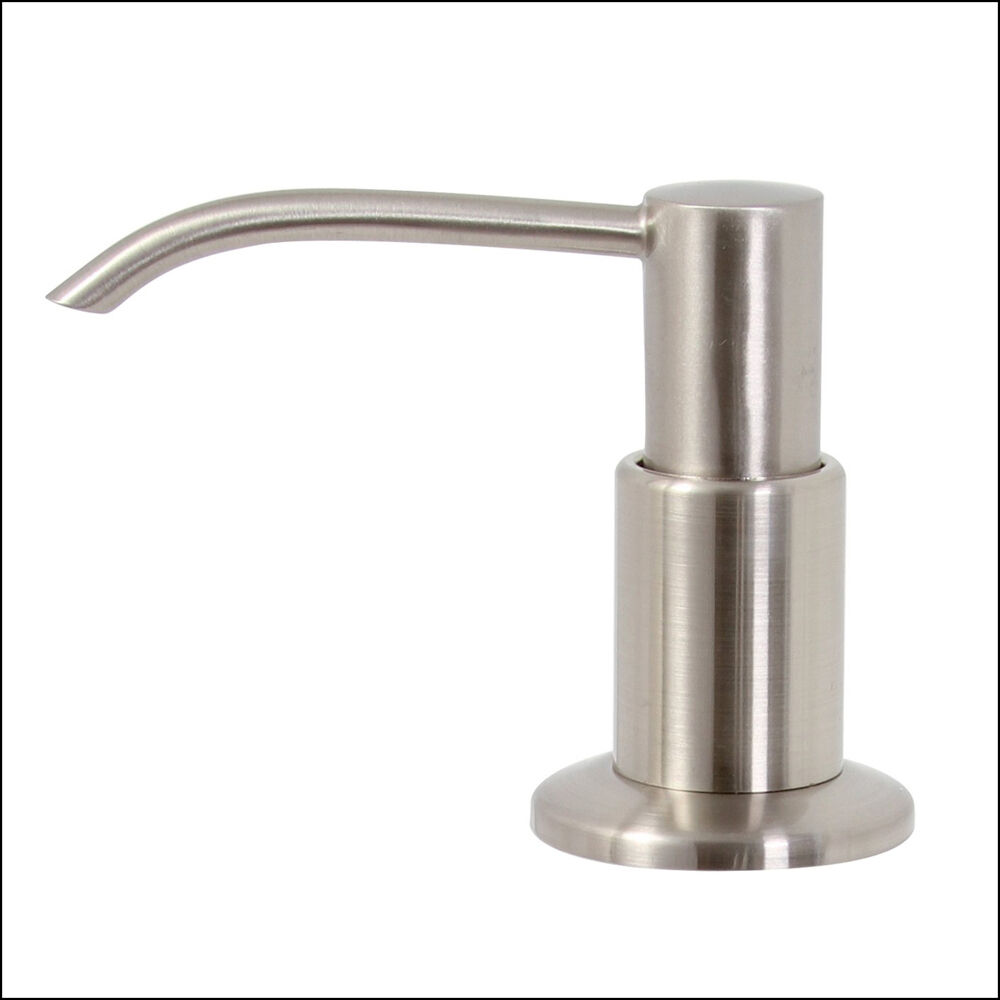 Premier Wellington Soap Pump Dispenser Brushed Nickel