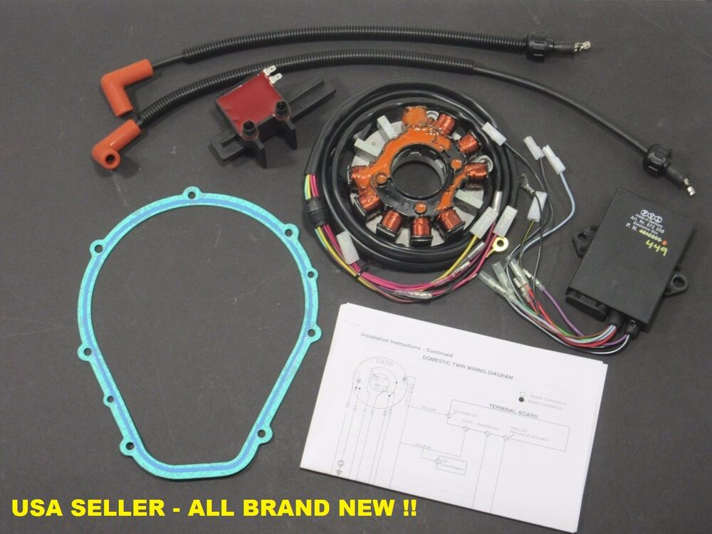 New Polaris 1996 1997 700 Cdi Update Kit   Stator