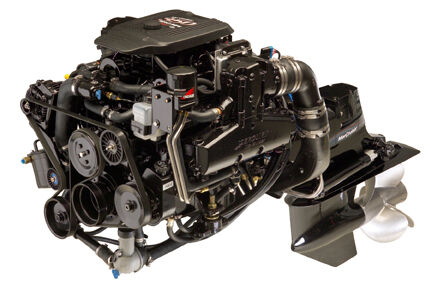 New Mercruiser 5 7l 350 Mag Mpi 320 Hp Bravo Engine