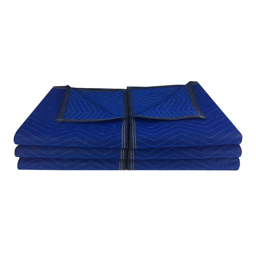 6 Economy Moving Blanket 72x80 43 Professional Quilted Storage Blanket Ebay