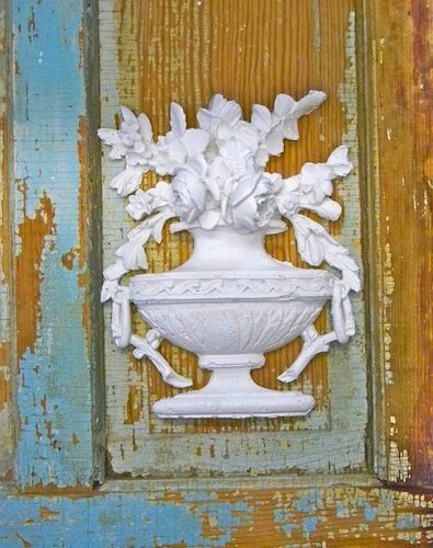 shabby chic french rose bouquet furniture appliques ebay. Black Bedroom Furniture Sets. Home Design Ideas