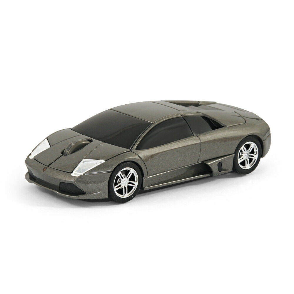 official lamborghini murcielago car wireless computer mouse grey 854218003014 ebay. Black Bedroom Furniture Sets. Home Design Ideas