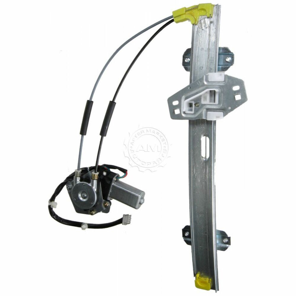 Front power window regulator w motor driver side left lh for 1997 honda accord window regulator replacement