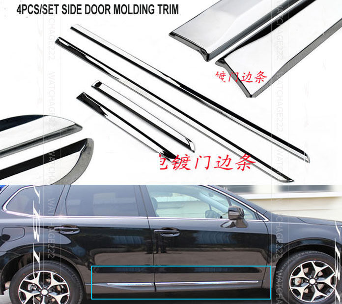 Mitsubishi Shogun Parts Warehouse >> Chrome Body Side Moulding Ebay | Autos Post