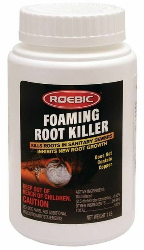 NEW ROEBIC FRK6 16 OZ FOAMING SEWER & SEPTIC LINE ROOT KILLER WORKS!! SALE