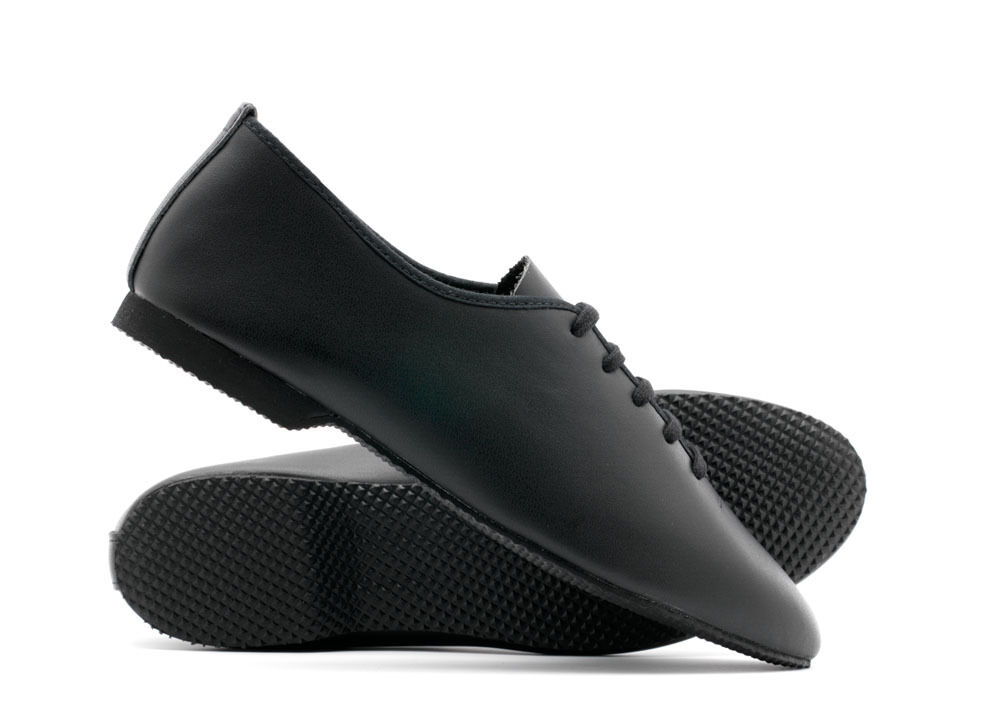 Boys Black Jazz Shoes