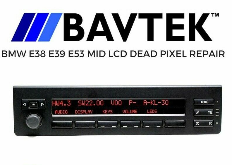 Bmw E38 E39 E53 X5 3 0i 4 4i 4 6is 4 8is Mid Radio Display