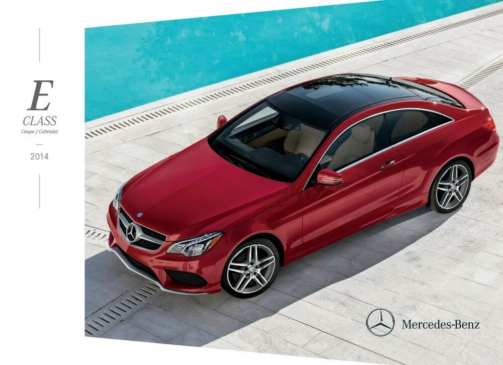 2014 mercedes benz e350 e550 coupe and cabriolet 28 page for Mercedes benz 2014 e350 parts