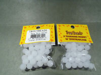Troutbeads, 8 mm Snow Roe , 1 Pack