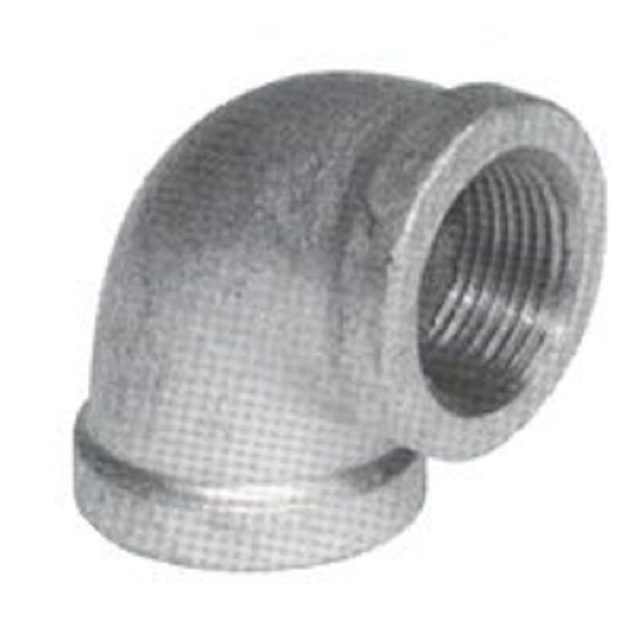 4 In Duct Fittings : Lot inch galvanized pipe threaded ° elbow
