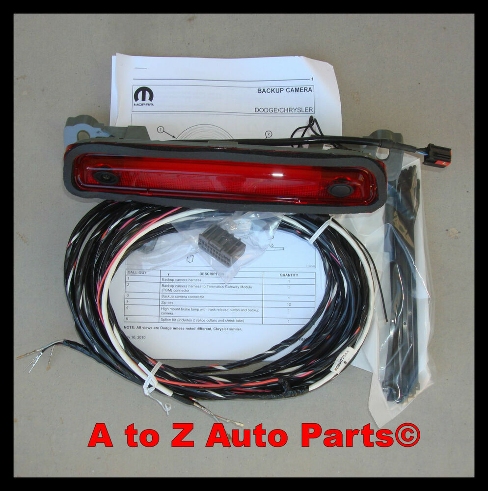 s l1000 mopar backup camera parts & accessories ebay Wiring Harness Diagram at soozxer.org