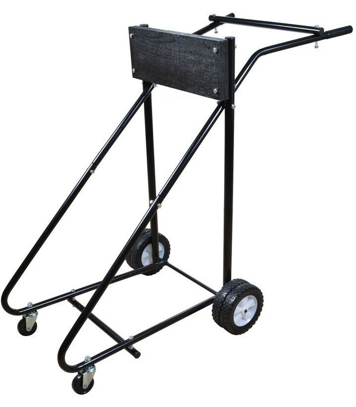 315 Lb Outboard Boat Trolling Motor Stand Carrier Cart
