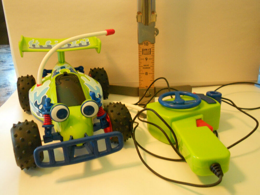 Remote Control Car Replacement Parts : Disney pixar toy story rc remote control car tethered